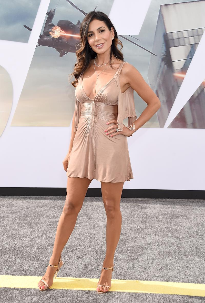 """HOLLYWOOD, CA - JULY 13: Patricia Manterola arrives at the Premiere Of Universal Pictures' """"Fast & Furious Presents: Hobbs & Shaw"""" at Dolby Theatre on July 13, 2019 in Hollywood, California. (Photo by Gregg DeGuire/WireImage)"""