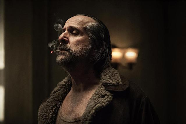 <p>Peter Stormare as Czernobog in Starz's <i>American Gods</i>.<br><br>(Photo: Starz) </p>