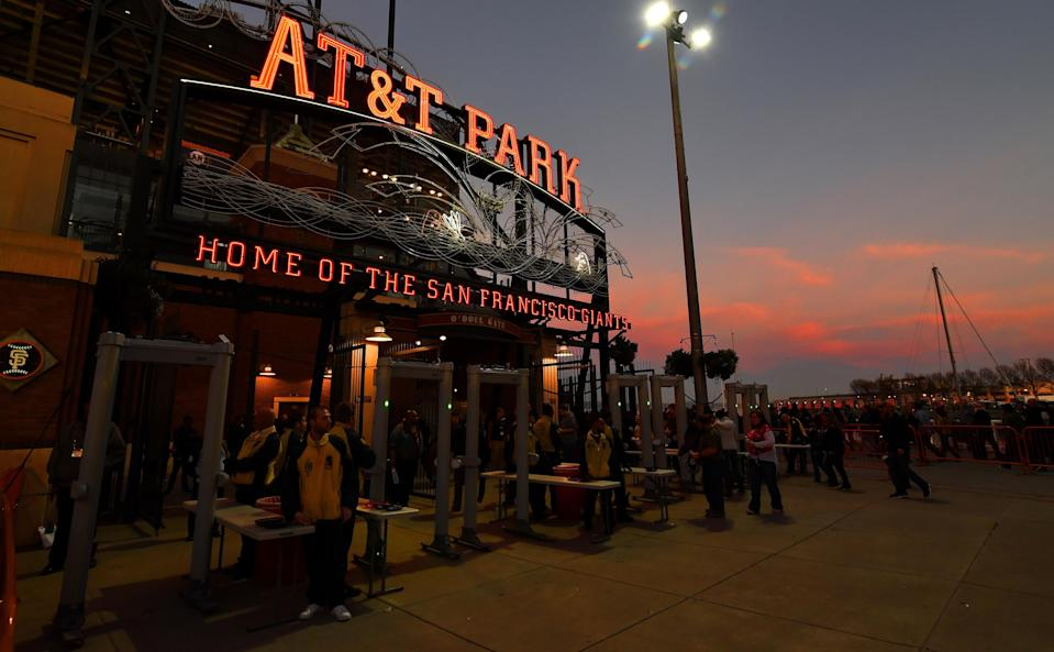 Oracle Park replaces AT&T Park after Giants agree to new 20-year naming rights agreement. (AP)