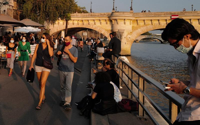 More than 10,000 new Covid-19 infections were reported in France on Saturday - (AP Photo/Francois Mori)