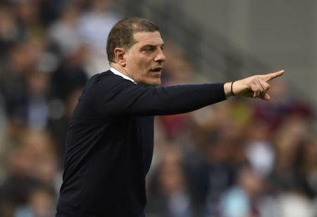 Britain Soccer Football - West Ham United v Everton - Premier League - London Stadium - 22/4/17 West Ham United manager Slaven Bilic Action Images via Reuters / Tony O'Brien Livepic