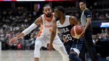 Mitchell, Walker lead US over Spain in World Cup warm-up