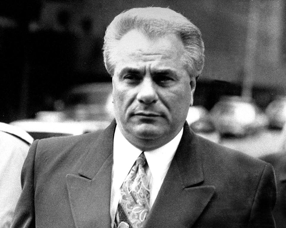 <p>John Gotti (a notorious mob boss from New York) was put on trial in March and convicted in April of five murders and a slew of other charges. The 'Teflon Don' spent the rest of his life behind bars and passed away due to cancer in 2002. </p>