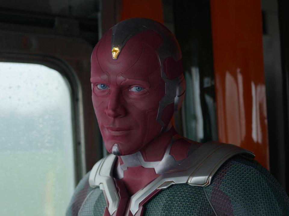 Paul Bettany as Vision in WandaVision (Disney Plus)