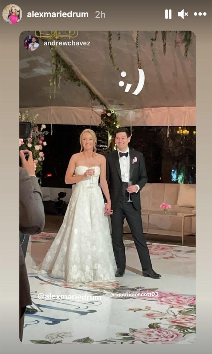 Ree Drummond's daughter Alex marries in a stunning ceremony at the family ranch – see photos