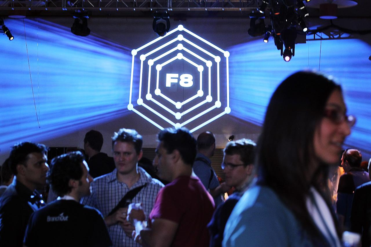 SAN FRANCISCO, CA - SEPTEMBER 22:  Attendees mingle during the Facebook f8 conference on September 22, 2011 in San Francisco, California. Facebook CEO Mark Zuckerberg kicked off the conference introducing a Timeline feature to the popular social network.  (Photo by Justin Sullivan/Getty Images)