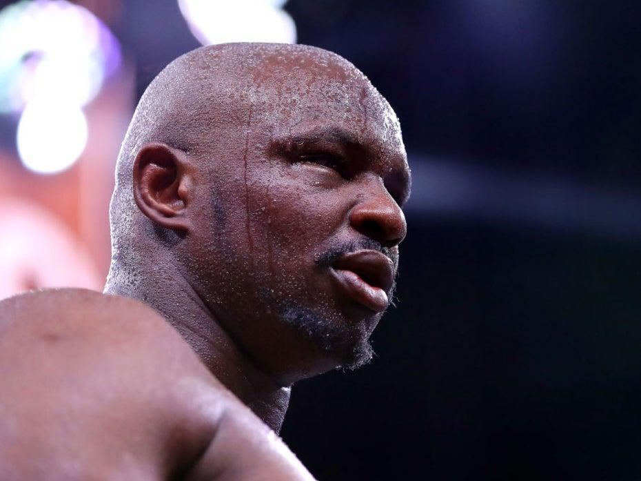 <p>Dillian Whyte attacked Tyson Fury on social media</p> (Getty Images)