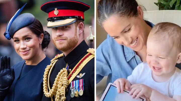 harry and meghan and archie