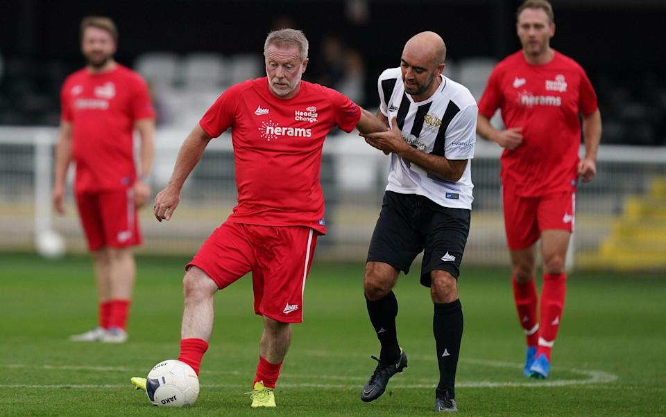 Former players from Middlesbrough and the National League North club were involved in the game - PA