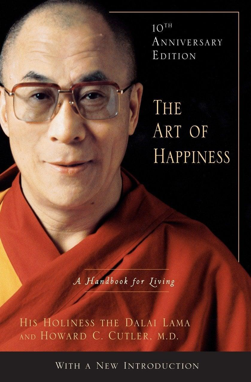 """<p>""""<span><strong>The Art of Happiness: A Handbook for Living</strong></span> is another one of those books I always reach for. It helps remind me about the beauty of the present moment and the importance of gratitude. I think this should be required reading."""" - IY</p>"""