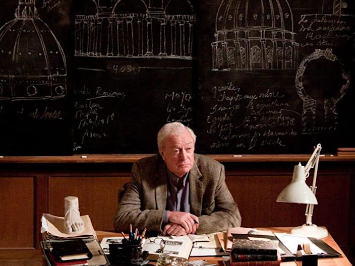 """Michael Caine appeared in """"Inception."""""""