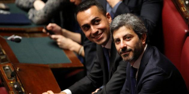 Five Stars Movement (M5S) Roberto Fico attends the first session of the Chamber of Deputies since the March 4 national election in Rome, Italy March 23, 2018. REUTERS/Tony Gentile