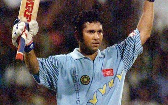 Sachin's heroics with the bat saved the day for India (Image Credit: India Today)