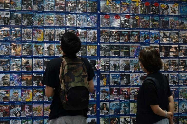 China's regulators want to rein in the entertainment and gaming industries (AFP/GREG BAKER)