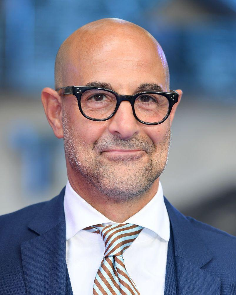 <p>The bald makes the look. And the glasses are a stylish compliment. </p>