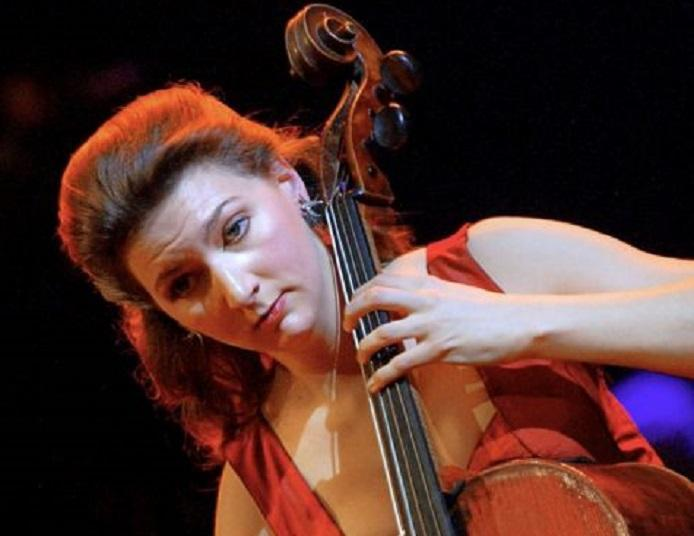 French cellist Ophelie Gaillard was robbed in a Paris suburb: AFP/Getty