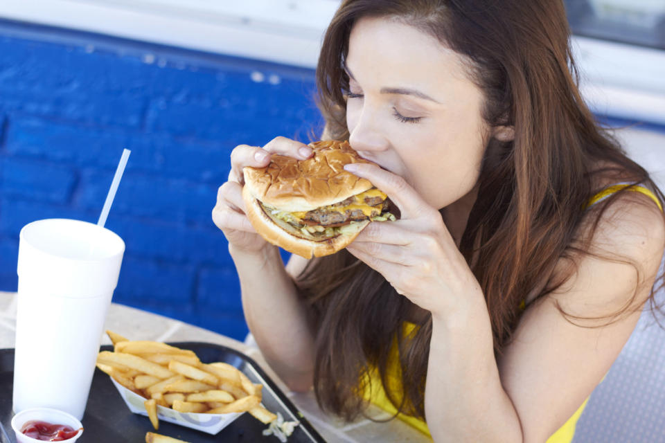 How do some people are slim no matter what they eat? [Photo: Getty]