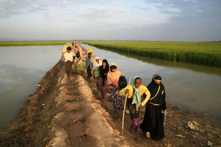 More than 600,000 Rohingya refugees have streamed into Bangladesh in recent months
