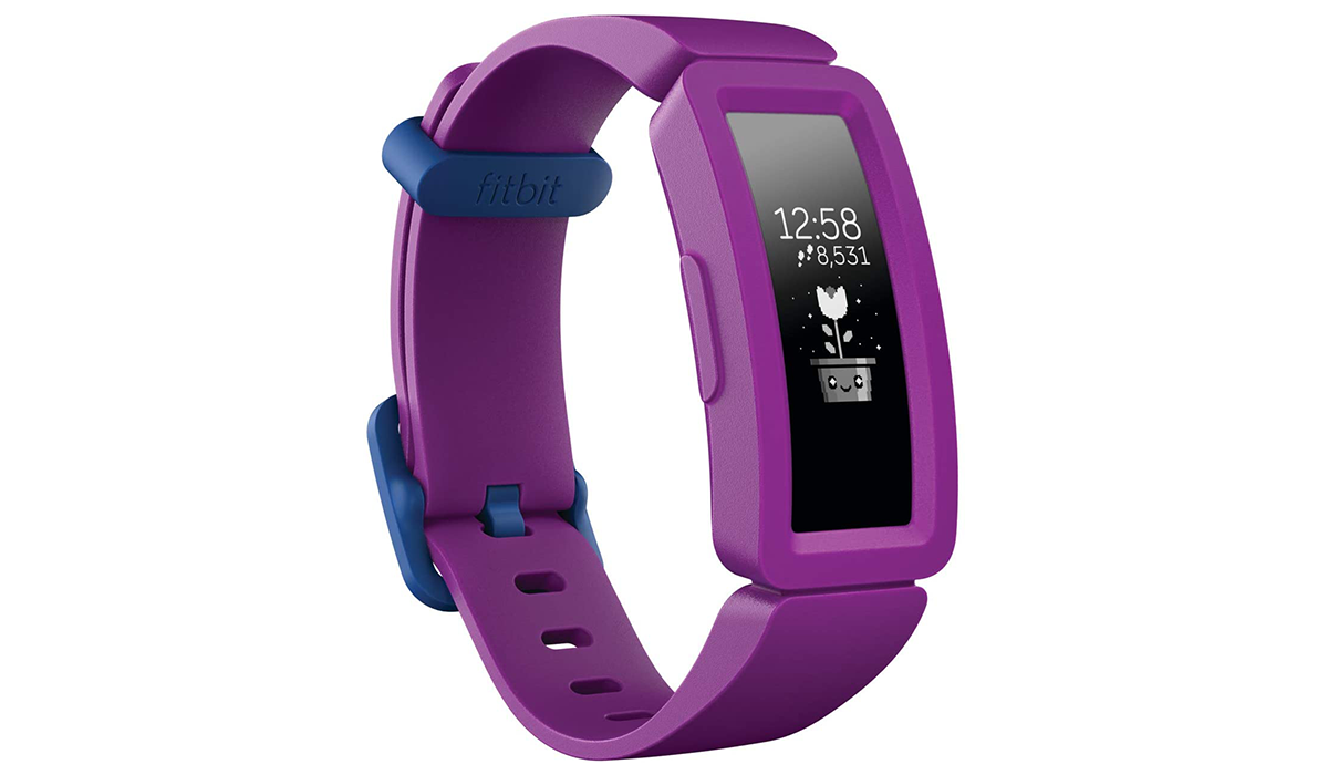 Two versions of the kid-size Fitbit Ace 2 (Grape and Watermelon) are on sale for $40 on Amazon. (Photo: Amazon)
