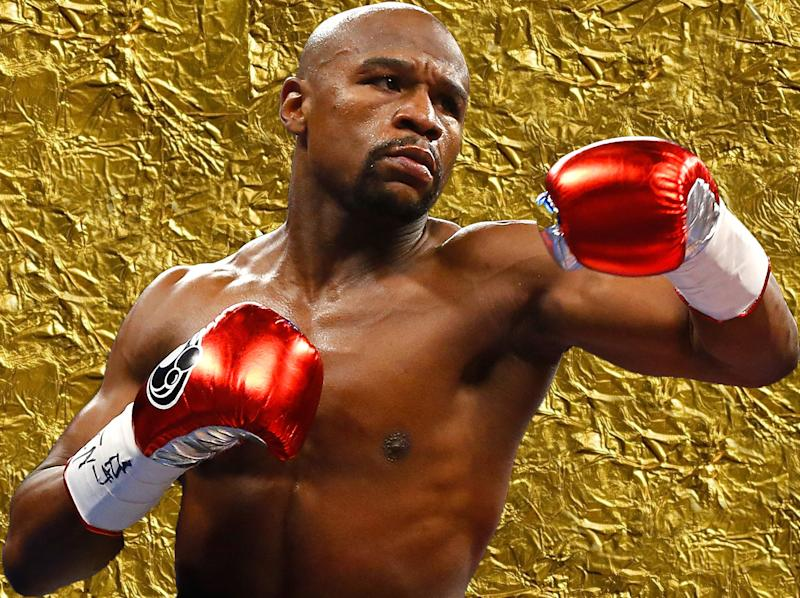 Mayweather boasts a flawless professional record: Getty