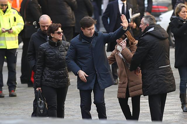 <p>Dario Nardella mayor of Florence ahead of a funeral service for Davide Astori on March 8, 2018 in Florence, Italy. The Fiorentina captain and Italy international Davide Astori died suddenly in his sleep aged 31 on March 4th, 2018. (Photo by Gabriele Maltinti/Getty Images) </p>