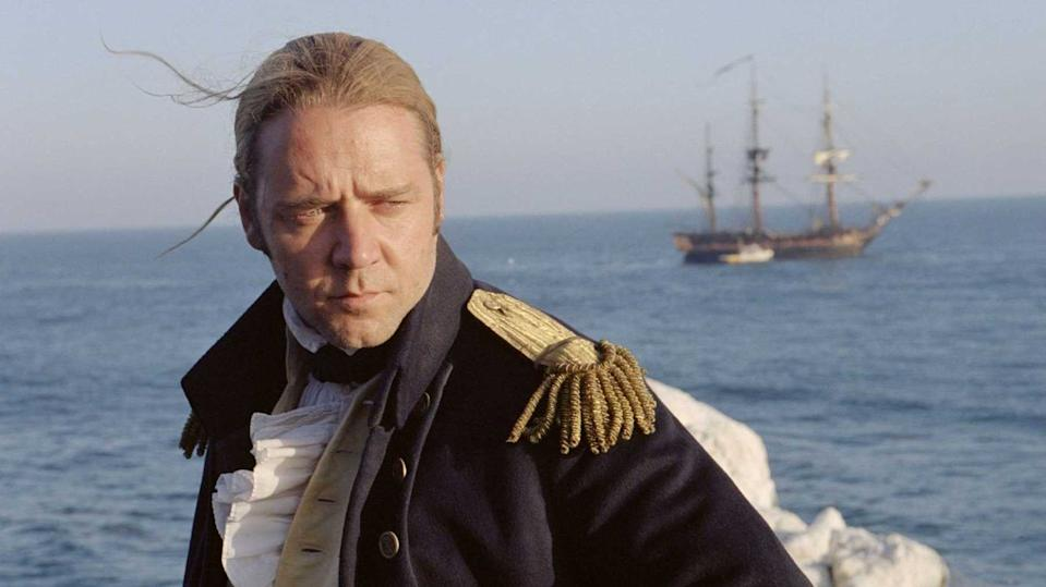 Russell Crowe in Master and Commander (Credit: 20th Century Fox)