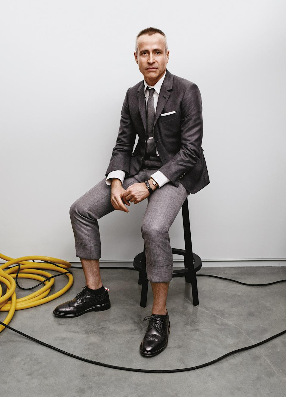 Break-free trousers that let your ankles breathe (Or <em>really</em> breathe if they come from the master of abbreviated pants, Thom Browne).