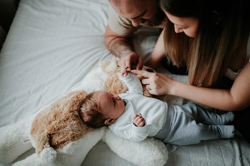 It is possible to feel jealousy towards a new baby, new research has suggested (Getty)