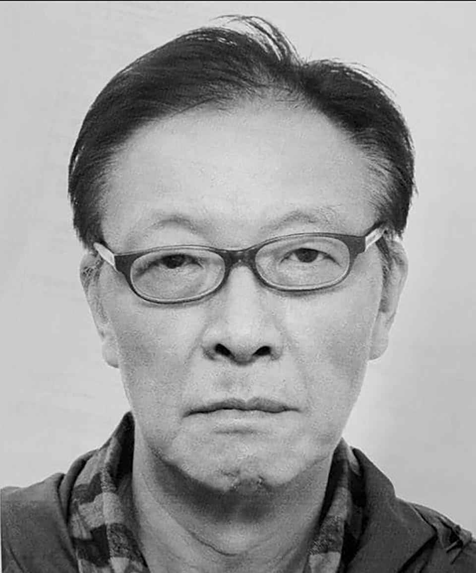Police released a photo of Li Wan-keung, who has been on the run for more than 24 hours. Photo: Facebook