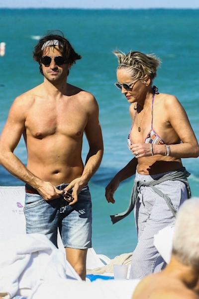 The 60-year-old actress was first spotted with Angelo Boffa in January, packing on the PDA at an event in New York City.