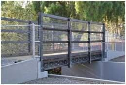 California Bridge Using AXION's 100% Recycled Plastic Building Materials Set for Ribbon Cutting Ceremony on December 7th