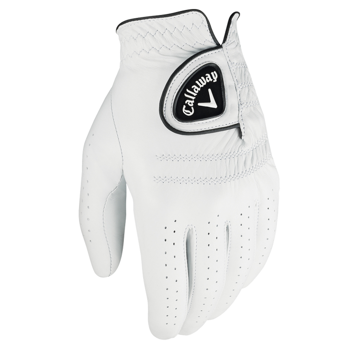 """<p><strong>Callaway</strong></p><p>amazon.com</p><p><strong>$20.23</strong></p><p><a href=""""http://www.amazon.com/dp/B07KWSH8YX/?tag=syn-yahoo-20&ascsubtag=%5Bartid%7C10055.g.20685099%5Bsrc%7Cyahoo-us"""" rel=""""nofollow noopener"""" target=""""_blank"""" data-ylk=""""slk:Shop Now"""" class=""""link rapid-noclick-resp"""">Shop Now</a></p><p>This isn't just any old golf glove: It's made of butter-soft leather meant to conform to his hands with every stroke and swing.</p>"""