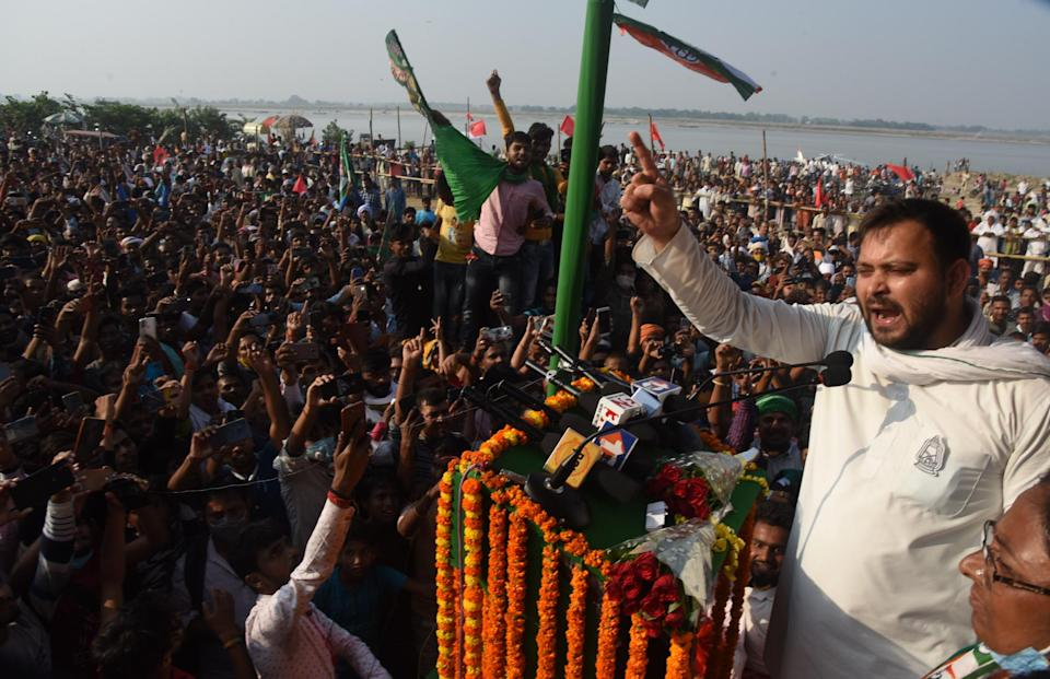 RJD warns its workers against celebratory firing, 'uncivil behaviour' on result day