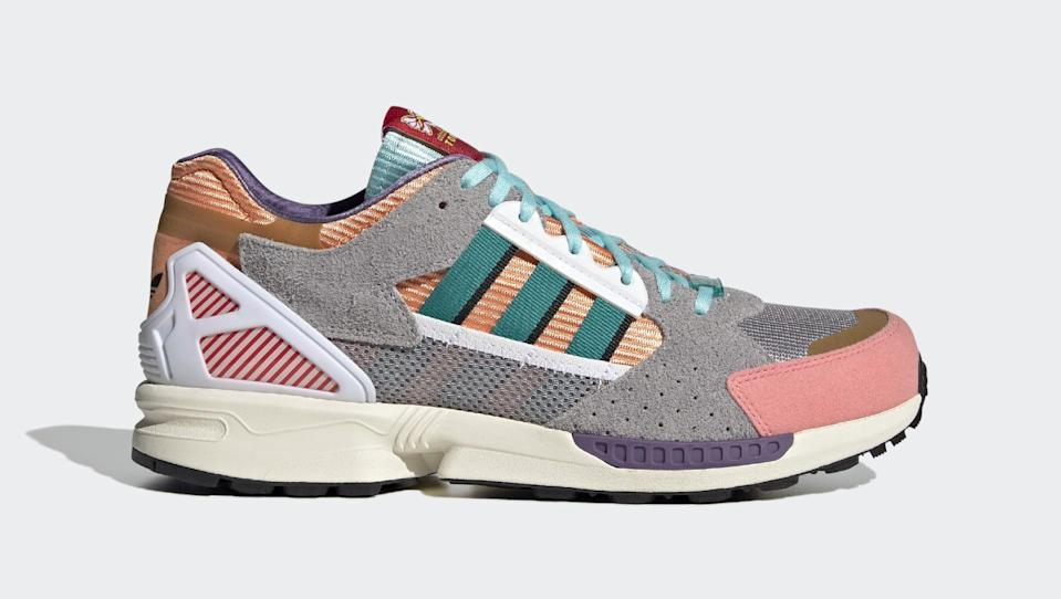 The lateral side of the Adidas ZX 10/7 Candyverse. - Credit: Courtesy of Adidas