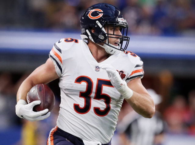 Watch: Former Oregon State star Ryan Nall busts a 69-yard run for the Chicago Bears