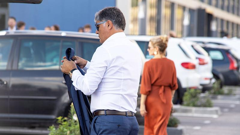 Nadal's coach Uncle Toni was there for the wedding.