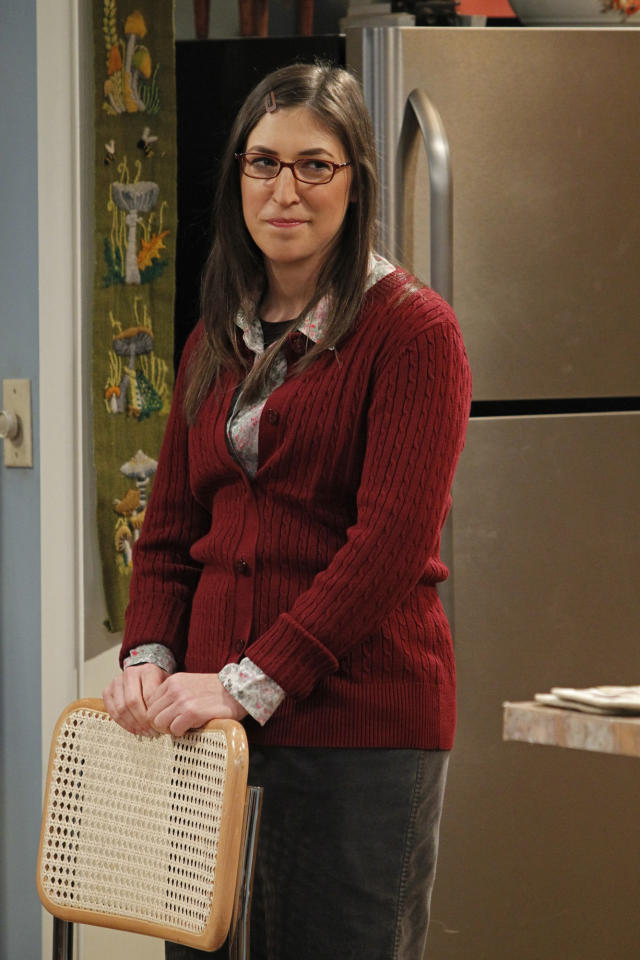 "Supporting Actress in a Comedy Series: Mayim Bialik, ""The Big Bang Theory"""