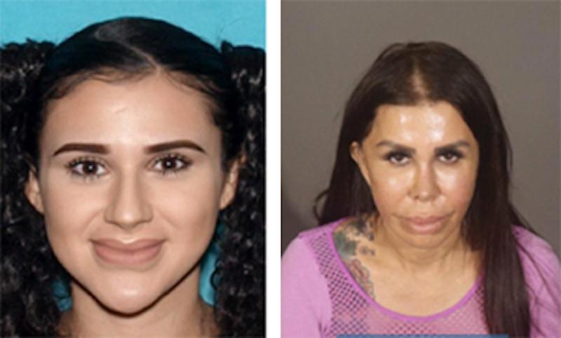 The mother and daughter duo, Alicia Galaz (left) and Libby Adame (right). — Picture courtesy of lapdonline.org