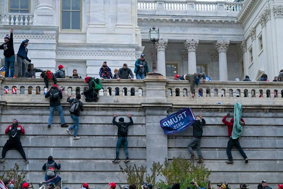 Capitol Breach Rally (Copyright 2020 The Associated Press. All rights reserved)