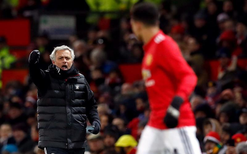 Jose Mourinho has hit out at his United players again - PA