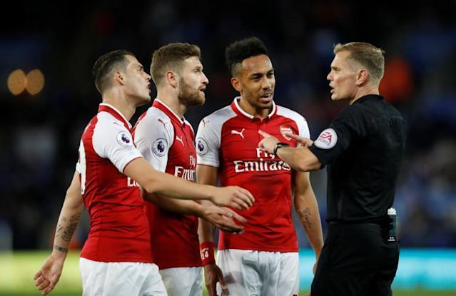 Arsenal fined £20,000 by FA for penalty protest vs Leicester City