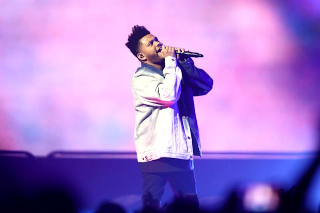 "<p><em>Starboy</em> took Best Urban Contemporary Album, beating Childish Gambino's <em>""Awaken, My Love!"" </em>(which was nominated for Album of the Year) and SZA's highly touted debut album, <em>Ctrl</em>. The Weeknd's previous album, <em>Beauty Behind the Madness</em>, won this award two years ago. (Photo: Phil Walter/Getty Images) </p>"