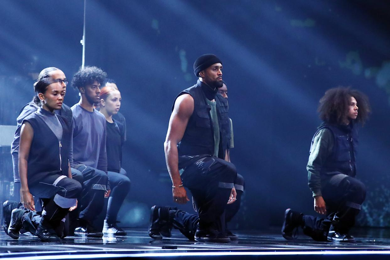 Diversity performed a dance inspired by the Black Lives Matter movement on 'Britain's Got Talent'. (Syco/Thames)