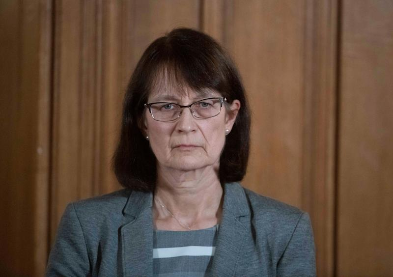 Deputy Chief Medical Officer Jenny Harries, speaking at a media briefing in Downing Street, said she expects the death toll to increase 'for the next week or two'. (Photo: PA)