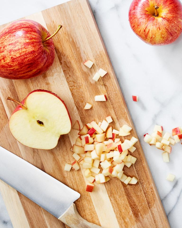 <p>Apple harvest season runs from August through November with some varietals like Gravensteins coming to markets as early as the end of July. The rest of the year, these fruits are available thanks to cold storage.</p>