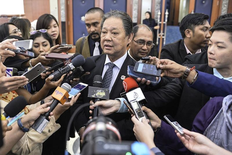 Tourism Minister Datuk Mohamaddin Ketapi pointed out that the federal government already imposed a tourism tax and questioned how the state would implement its additional bed tax. — Picture by Miera Zulyana