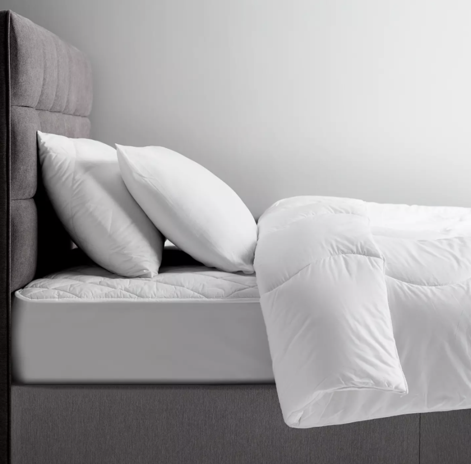 John Lewis' Microfibre Pillows are made for back and front sleepers.  (John Lewis & Partners)
