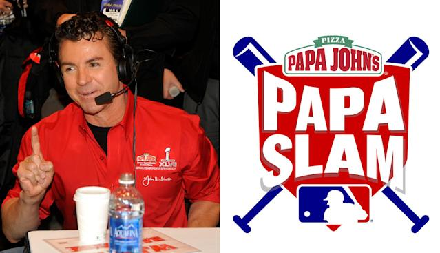 MLB has suspended its Papa Slam promotion with Papa John's. (AP)