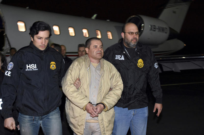 Notorious Mexican drug cartel boss 'El Chapo' found guilty in U.S.  trial