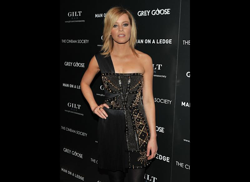Actress Elizabeth Banks attends The Cinema Society & Gilt Man with Grey Goose screening of 'Man on a Ledge' at the Tribeca Grand Hotel on January 19, 2012 in New York City. (Getty)